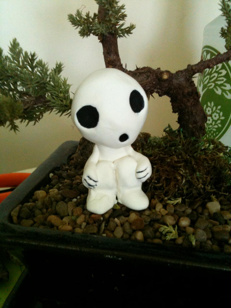 Kodama Sculpture by volleyballplayer13