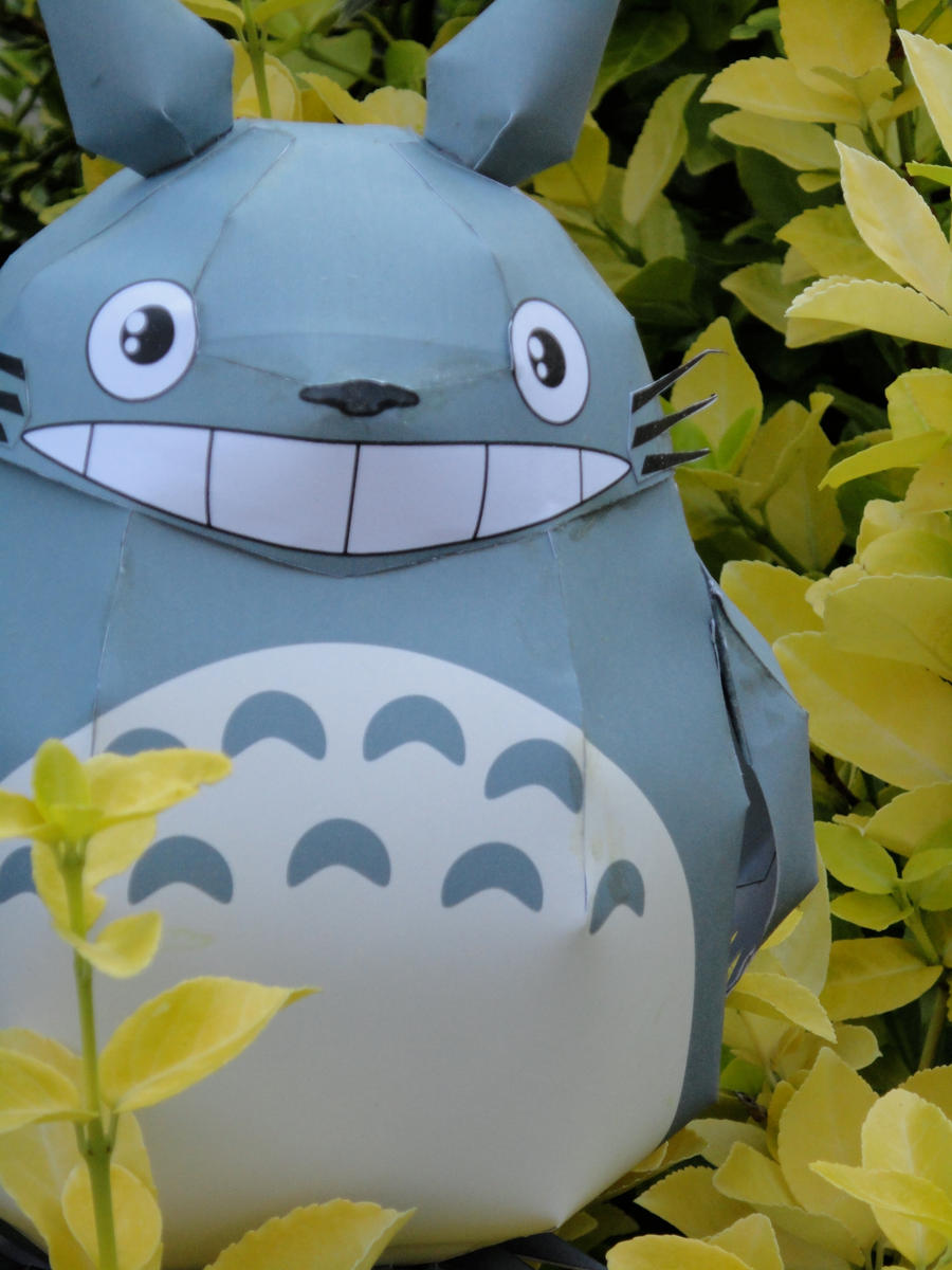 Totoro Papercraft 3 by volleyballplayer13