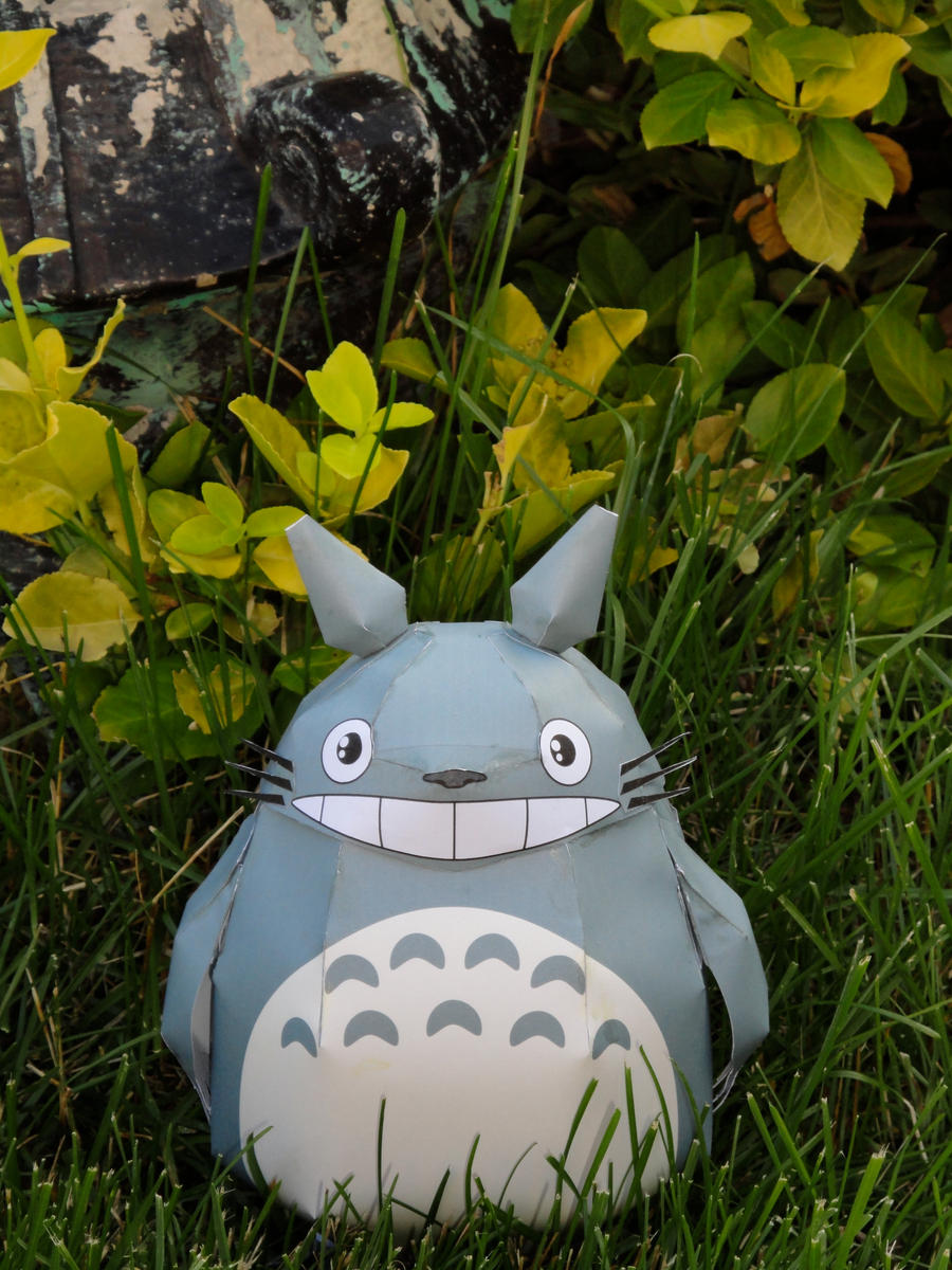 Totoro Papercraft 5 by volleyballplayer13