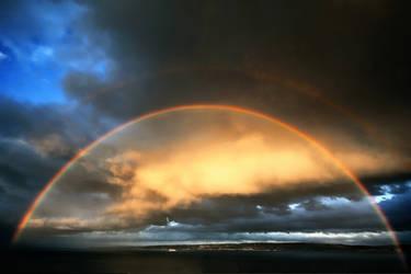 Double rainbow by roxiannie