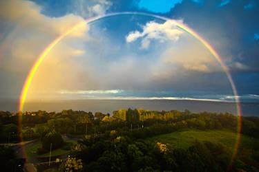 Full rainbow by roxiannie