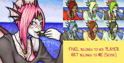 Fivel Portrait