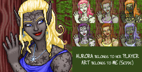 Aurora Portrait