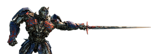 Optimus Prime TLK Render by Knightimus