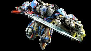 Optimus Prime TLK Render