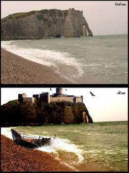 Cliff of the Middle Ages