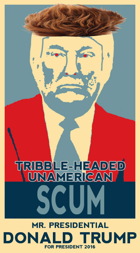 Image result for trump scum