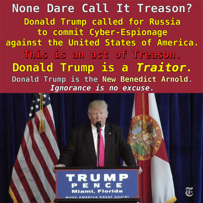 Image result for none dare call it treason