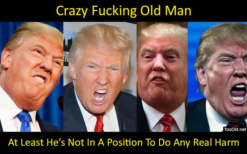 Trump Be Crazy by PopeyeTheoB
