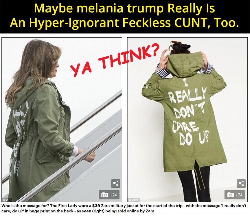 melania trump Is A Feckless C*nt by PopeyeTheoB