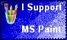 I Support MS Paint by Evilevergreen