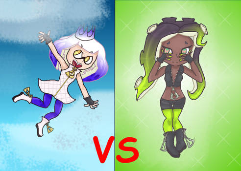Splatfest Flight VS Invisibility