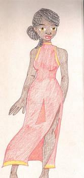 Kijani's China Dress