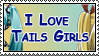 Stamp: Tails Girls by Otakon7