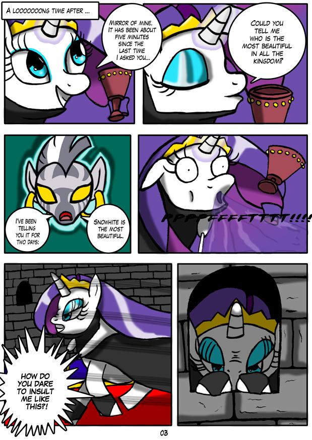 MLP: Snowhite Page 03 by Otakon7