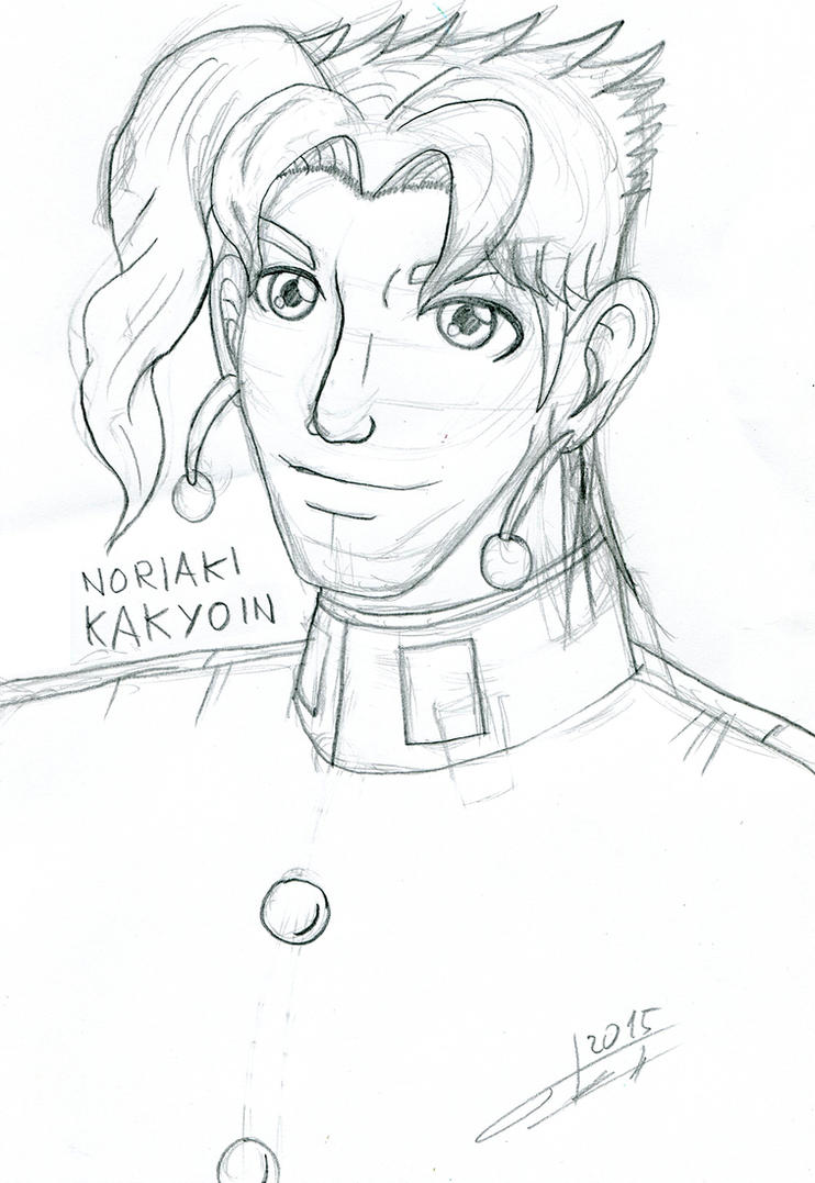 Kakyoin Noriaki by Otakon7