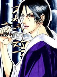 Itachi samurai by 6night-walking9