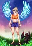 CM for VertigoR X: Angel and demon... cat by 6night-walking9
