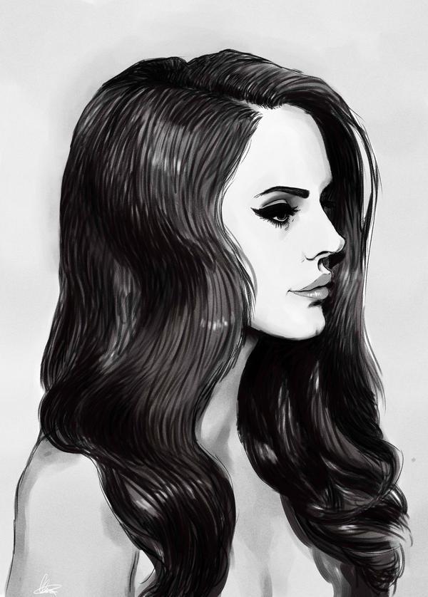 Lana del Rey by loloxomoxo