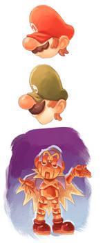 Super Mario Sketches (EDITADO)