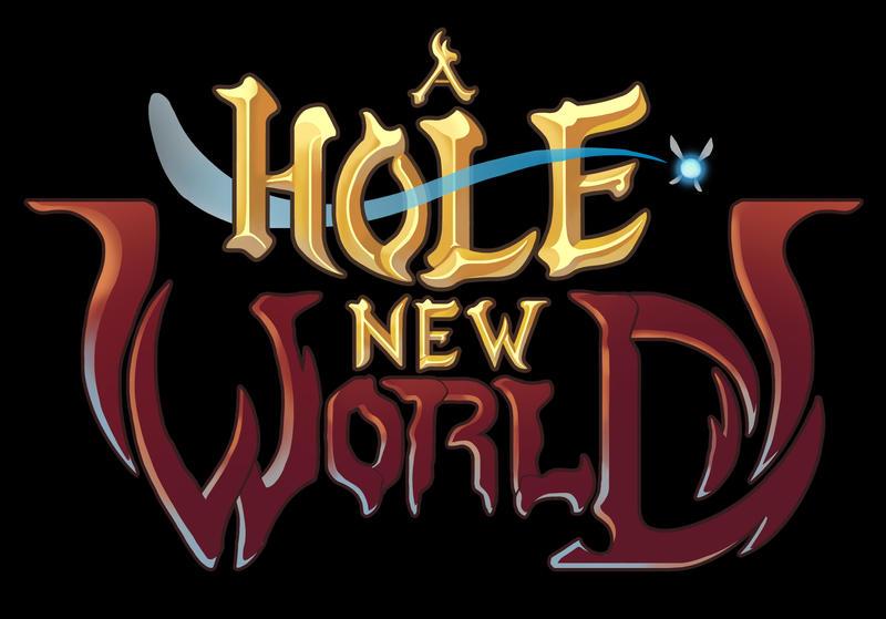A Hole New World - LOGO - by JuanitoMedina