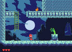 Pixel Game Screen