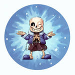 Sans Tells a Joke - Undertale Fan Art