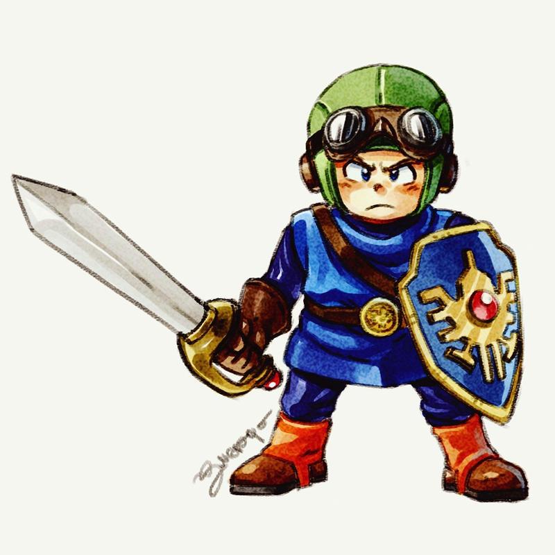 Dragon Quest II Hero - by Juanito Medina by JuanitoMedina