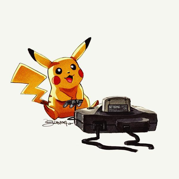 Pikachu - by Juanito Medina by JuanitoMedina