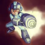 Megaman - Fanart by Juanito Medina by JuanitoMedina