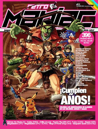 RETROMANIAC #11 - Final Cover