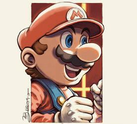 Super Smash Bros. Ultimate - #01 MARIO by JuanitoMedina