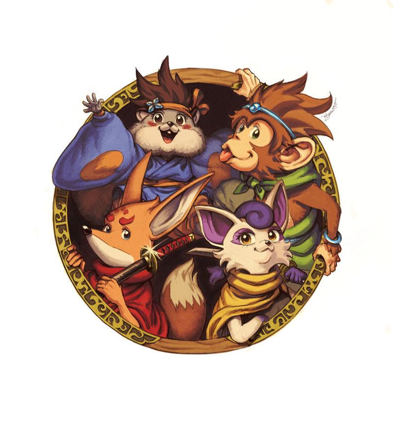 KEMONO HEROES - Tokyo Game Show 2018 Poster