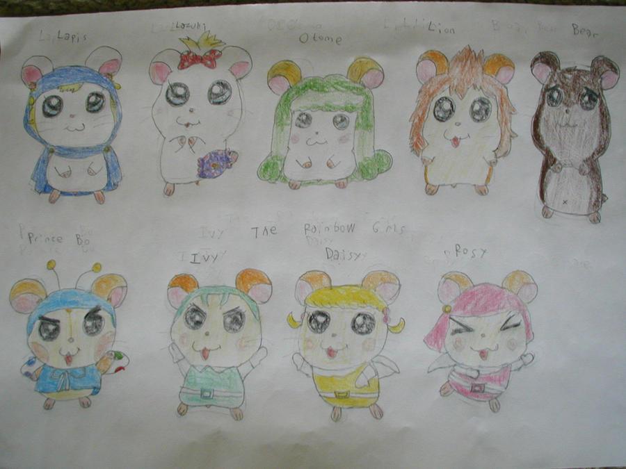 Hamtaro Oshare Hamtaro characters - page 5 by