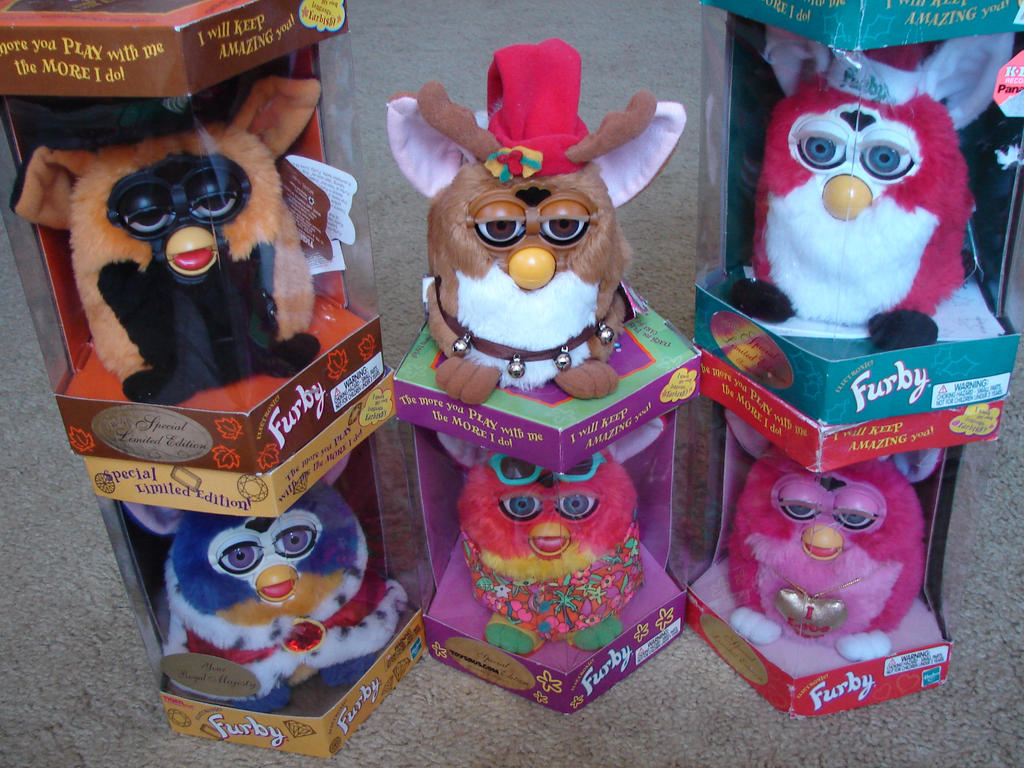 art My Furby Collection Special Editions Update