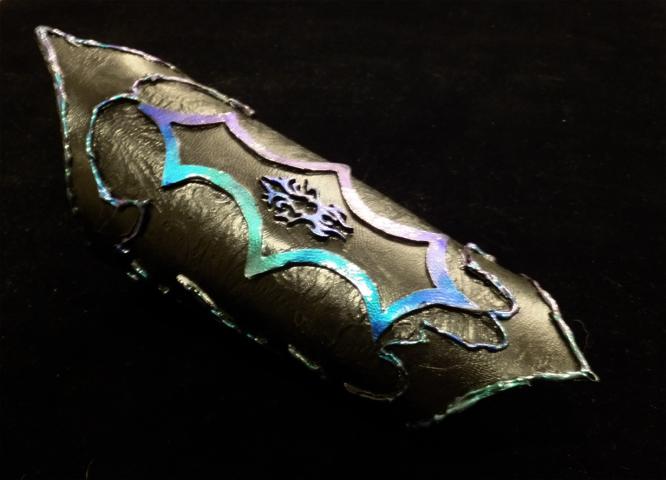 Tiefling Warlock Bracer Prototype by lilibat