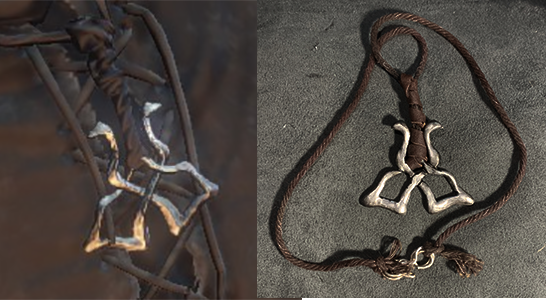 Karla the Witch Dark Souls 3 Necklace by lilibat
