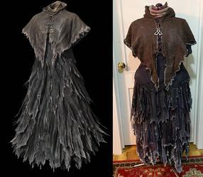 Karla the Witch Dark Souls Robe by lilibat