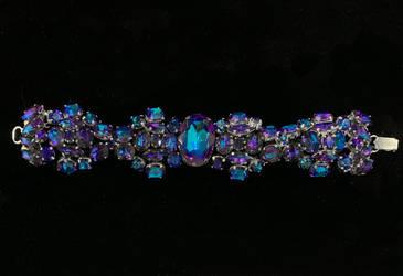 Heliotrope Crystal Bracelet by lilibat