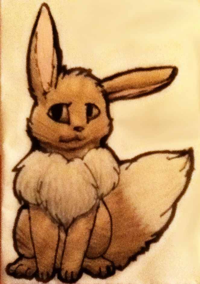Eevee by TheDragonInTheCenter
