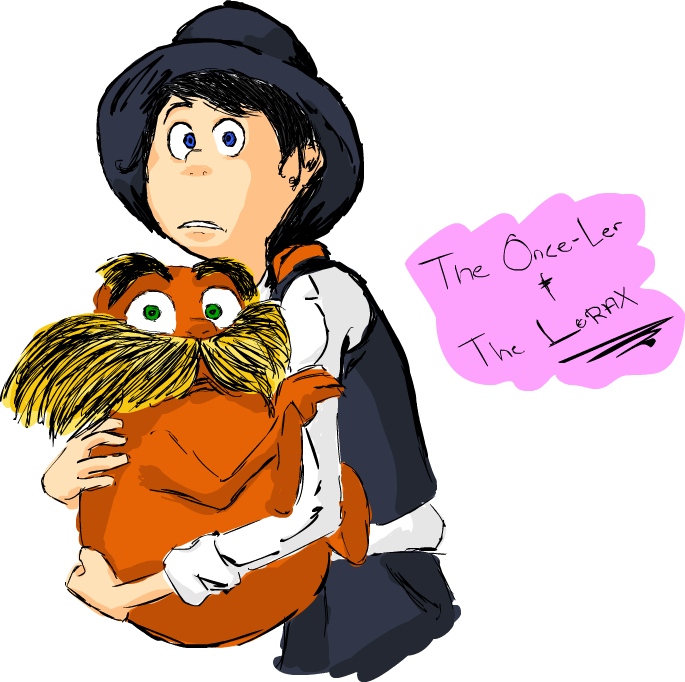 The Once-Ler And The Lorax From Movie The Lorax By