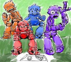 TMNT 2012 Human Version by SouL00020