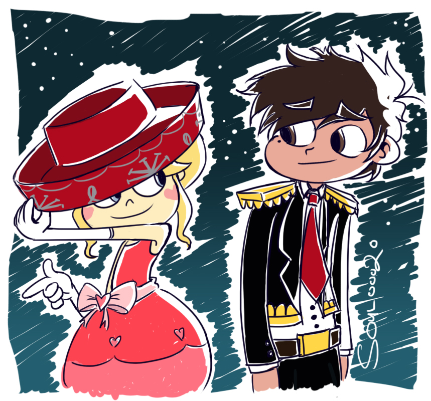 Star Vs The Forces of Evil: Star and Marco by SouL00020 on DeviantArt