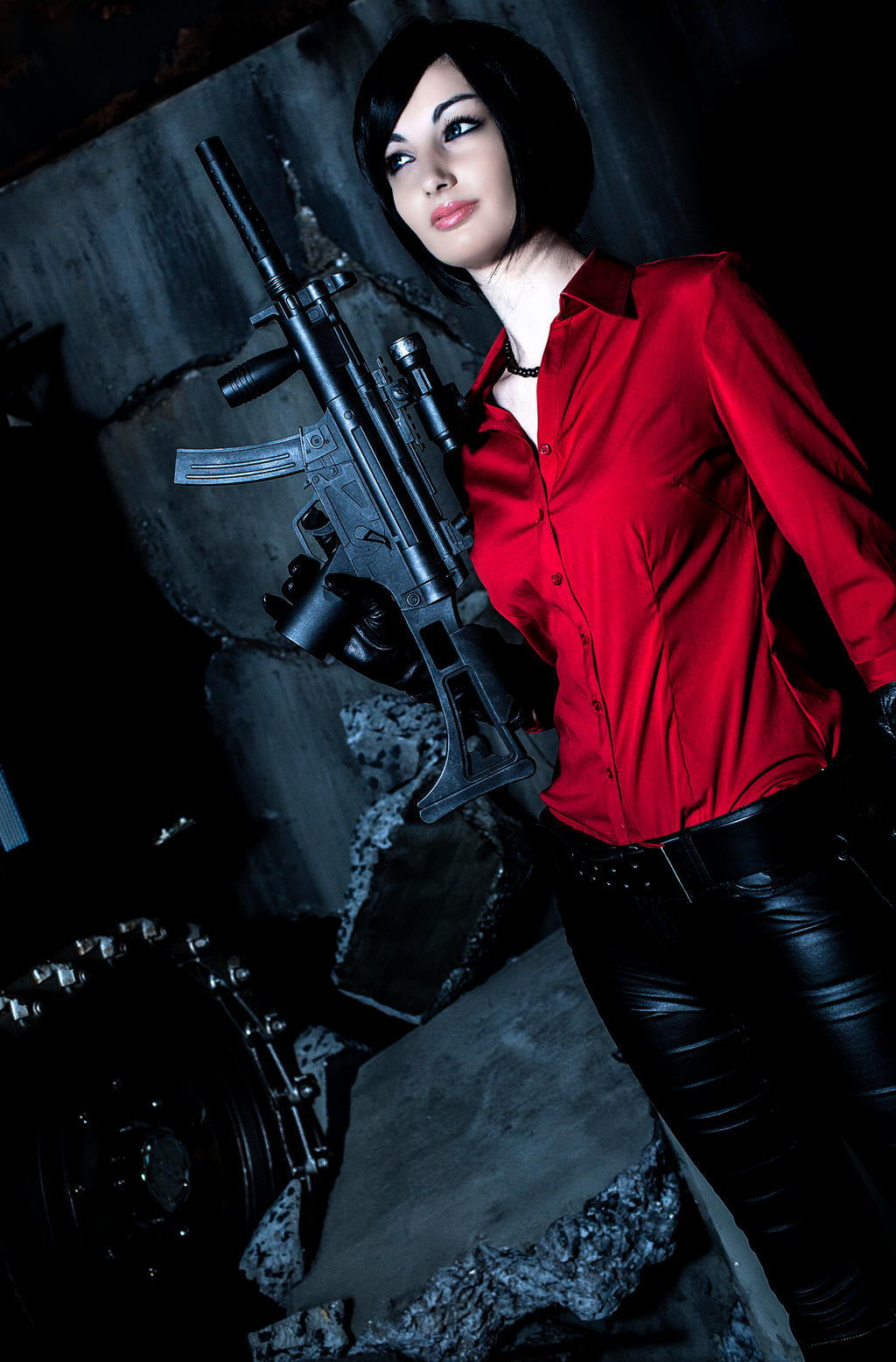 Ada Wong Cosplay Resident Evil 6 !! by ZombieQueenAlly