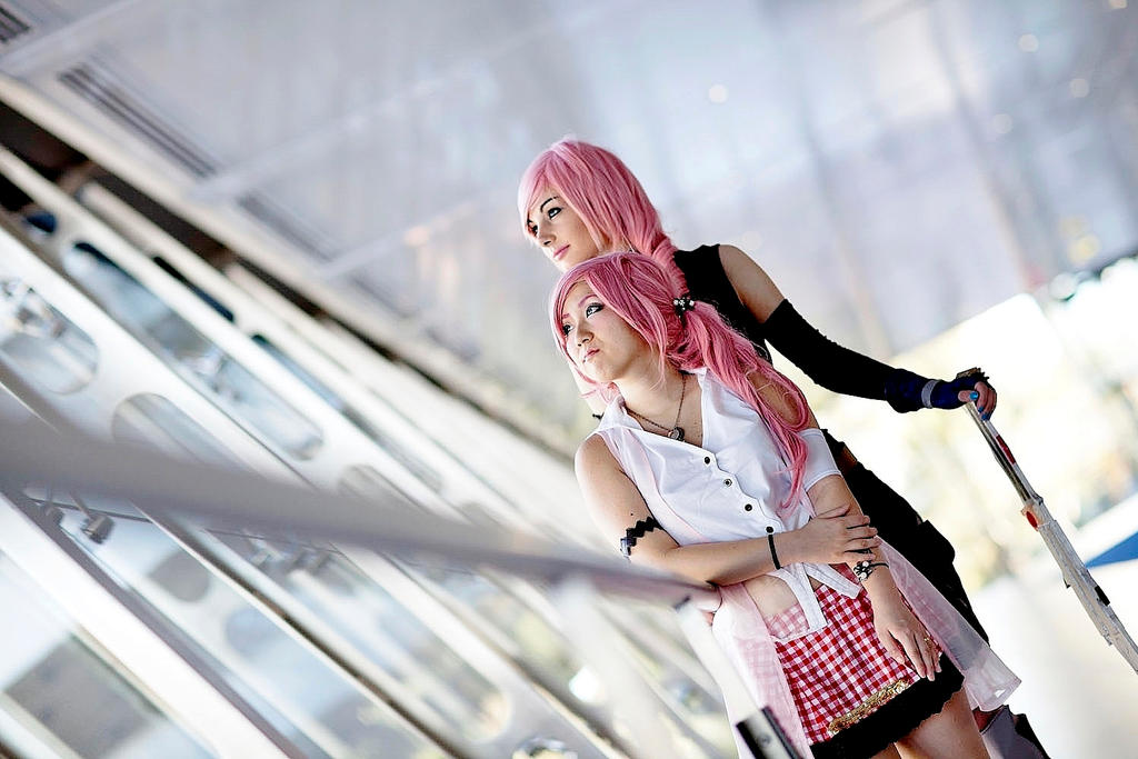 Lightning and Serah ! by ZombieQueenAlly