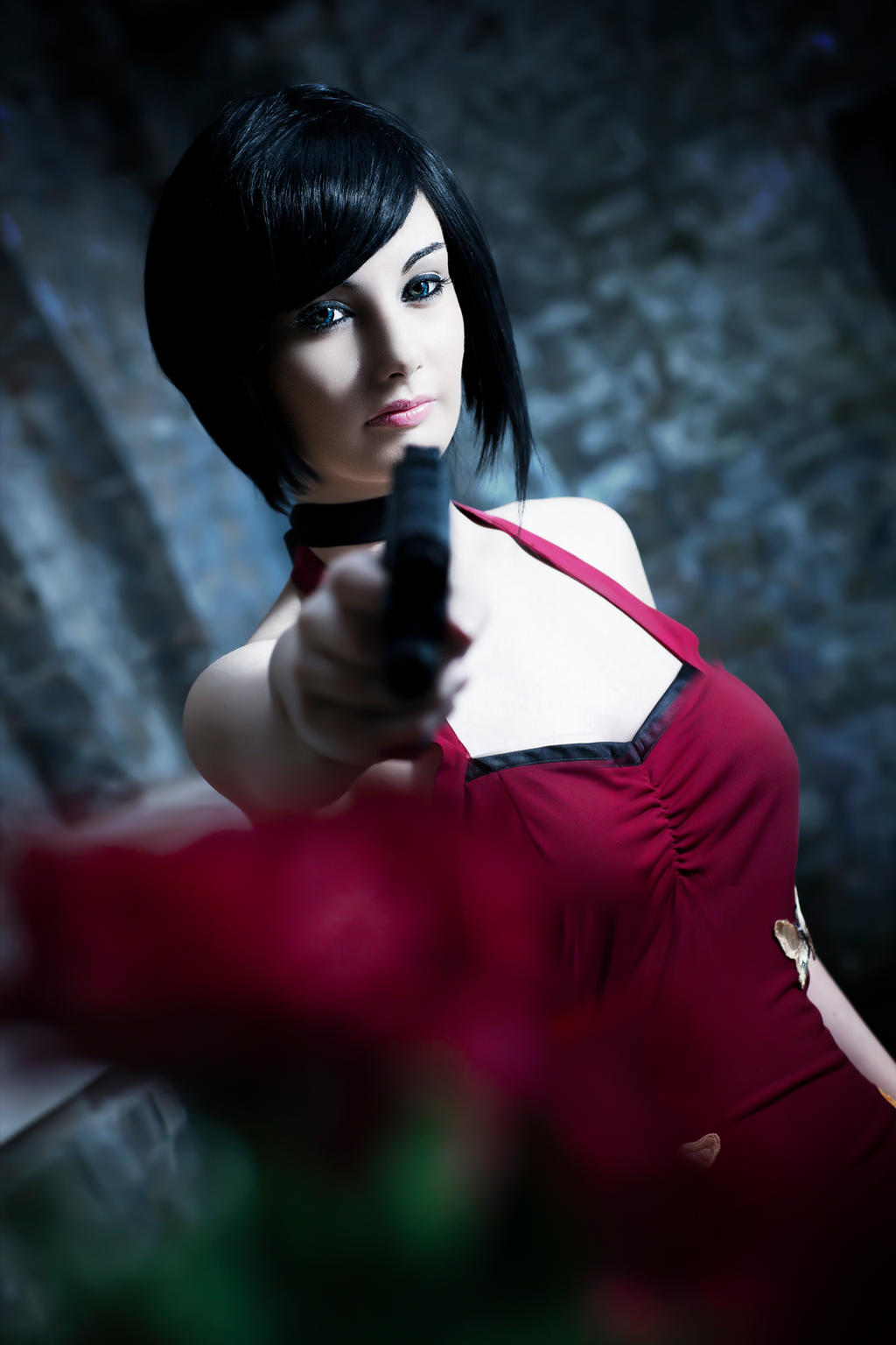 Ada Wong Cosplay by CosmicNya