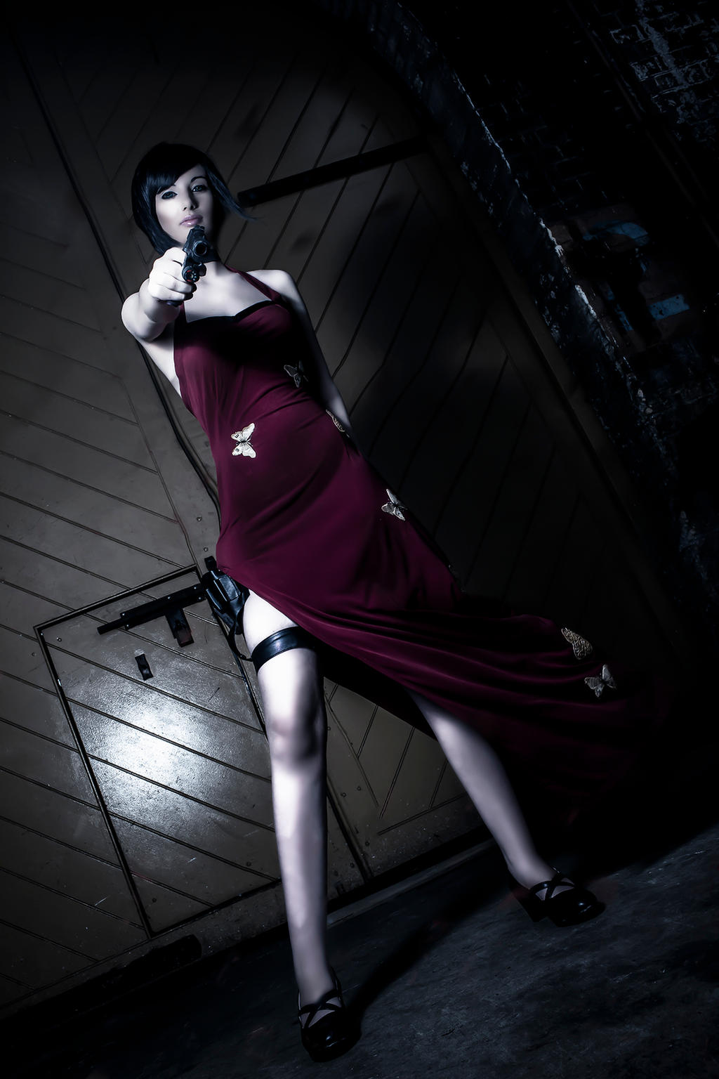 Ada Wong Cosplay by ZombieQueenAlly