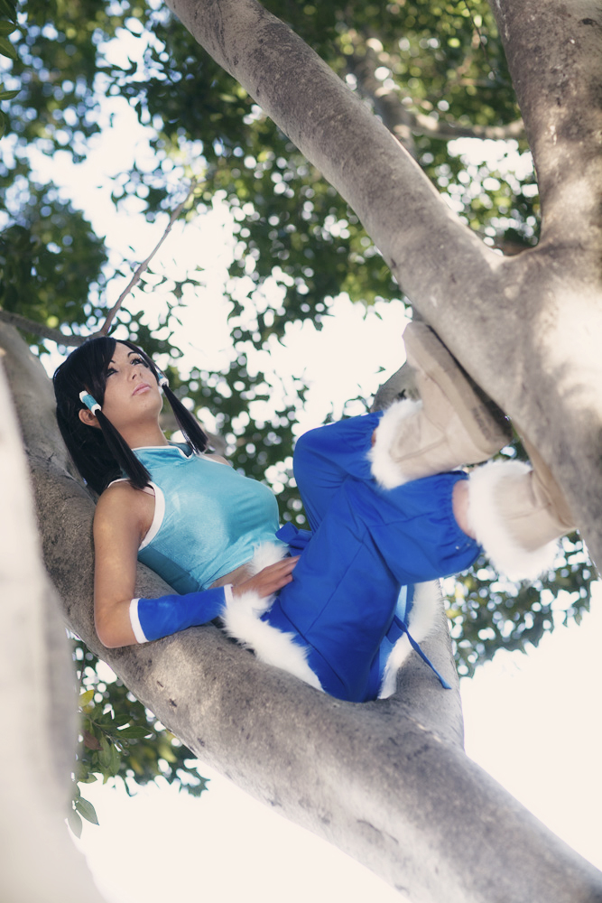 Legend of korra cosplay by ZombieQueenAlly