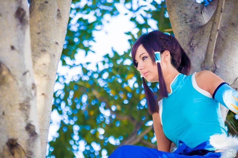 Legend of korra cosplay by CosmicNya