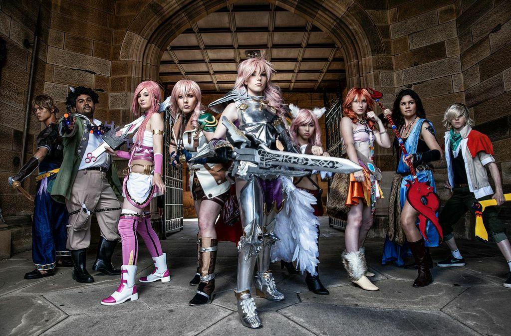 Final Fantasy cosplay by CosmicNya